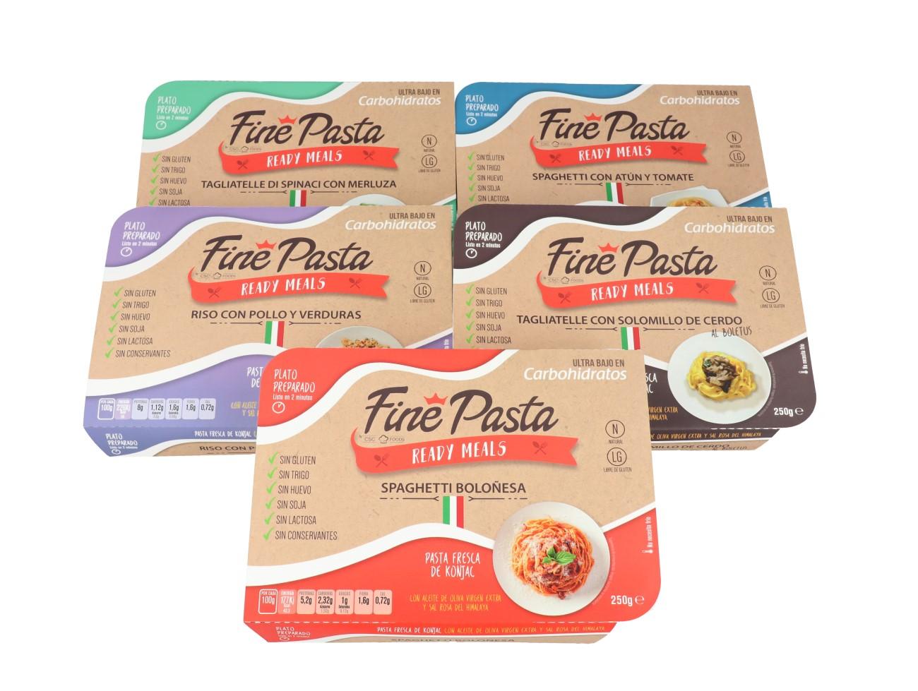Gama de productos Fine Pasta